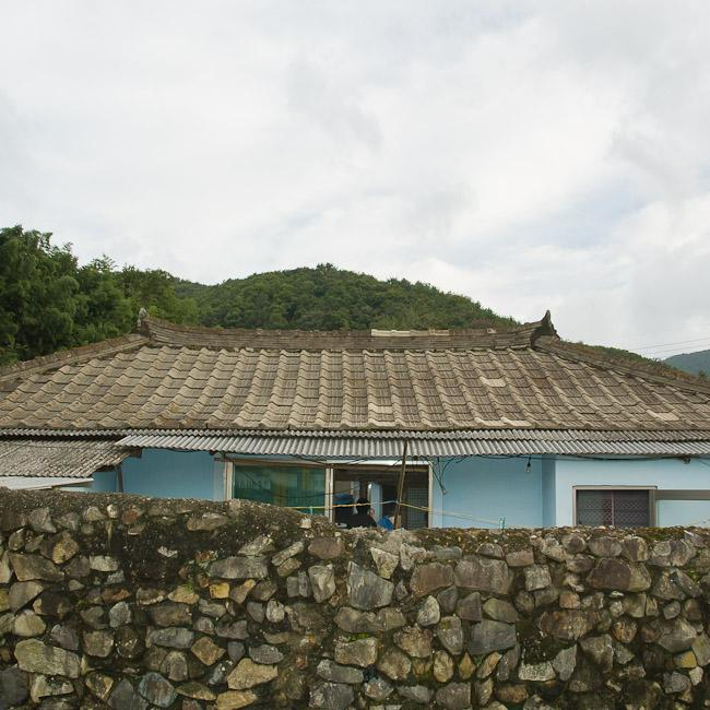 Traditional Korean countryside house