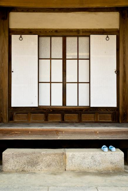 Entrance of a traditional house