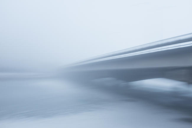 Bridge in fog I