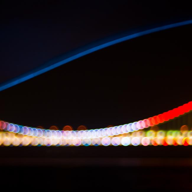 The colorful Gwangan Bridge – the Diamond Bridge, 광안대교